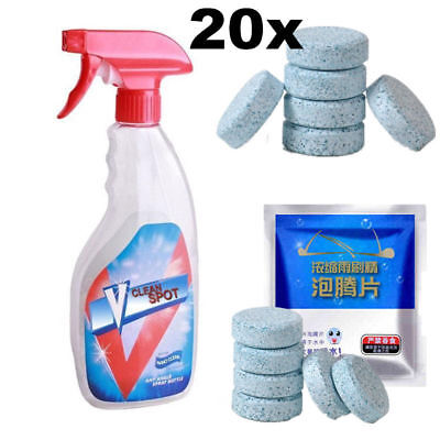 Multifunctional Effervescent Spray Cleaner Concentrate V Clean Spot 20pcs/Set