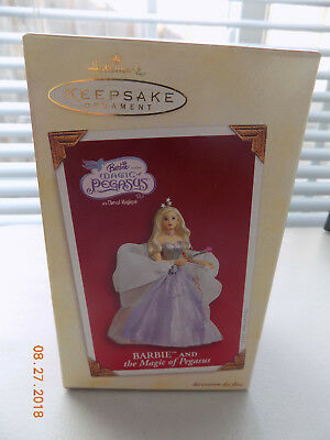 Hallmark 'Barbie and the Magic of Pegasus' Ornament - NEW, free shipping