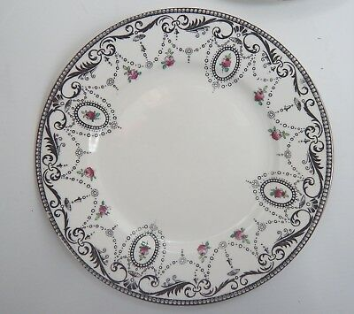 Shelley Fine Bone 8 x China 6 3/4 Inch Tea Plates - swags early