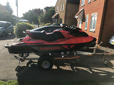 seadoo rxt 300 2017 55 hours with sensible mods