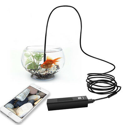 Waterproof Endoscope Borescope Inspection Camera Tool Kit for Android ios Car