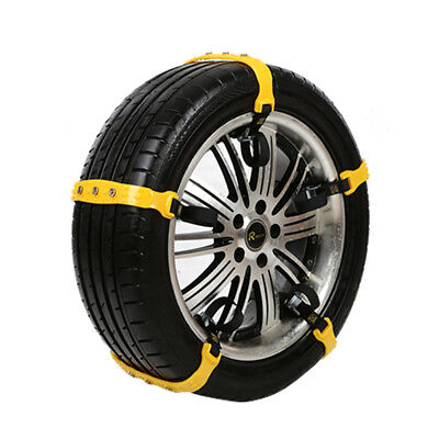 Universal Anti-skid Tire Chains for Car SUV Snow Winter Emergency Driving Sweet