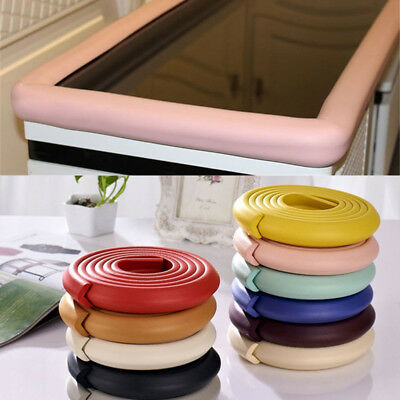 Infants Kids Table Edge Guard Protector Foam Strip Baby Safety Cushion Bumper 2M