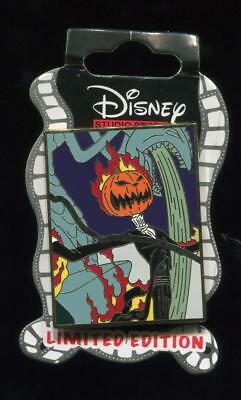 dssh nightmare before christmas puzzle piece pumpkin king le disney pin 107854