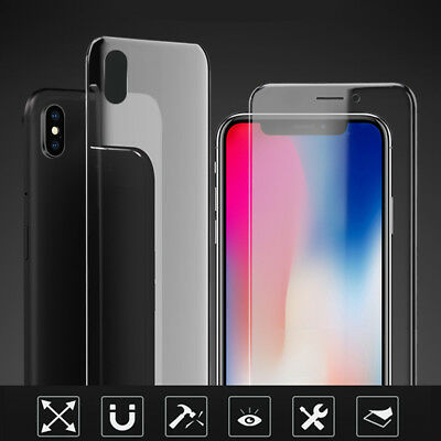 Front + Back Hydrogel Screen Protector Film For Apple iPhone X/XS Max XR 8 7+