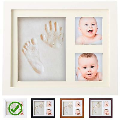 Baby Handprint Kit |NO MOLD| Baby Picture Frame Baby Footprint kit Perfect fo...