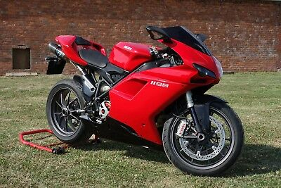Ducati 1198 Superbike with over £2,000.00 worth of extra's FSH Stunning bike.