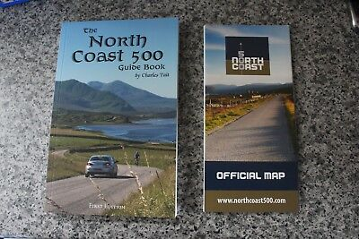NC500 essential guide book with FREE official map North Coast Route 500 Scotland
