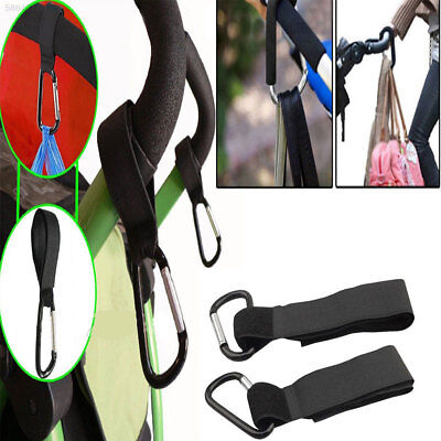 E902 Baby Cart Hooks 4Pcs Carabiner Carriage Multipurpose Pothook Baby Button