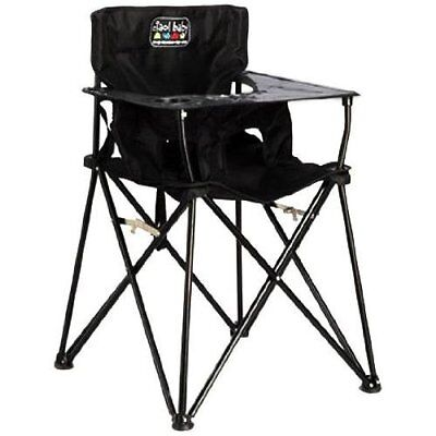 ciao! Baby Portable High Chair, Black