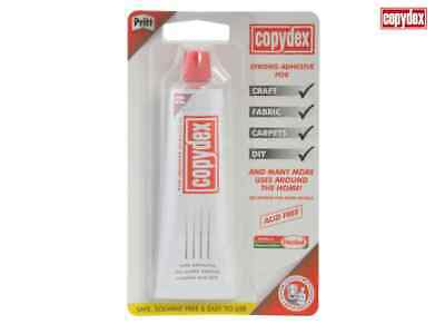 Copydex Latex Craft Glue Rubber Adhesive Solvent Free 50ml Tube 1007