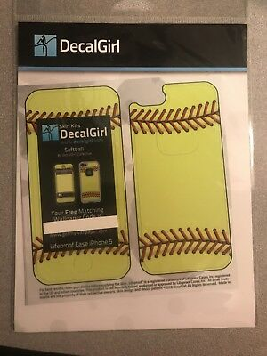 Skin for LifeProof iPhone 5 - Softball by Sports - Sticker Decal