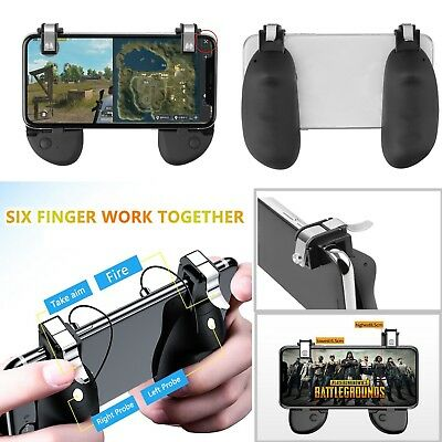 L1R1 R8X R8s Game Trigger Fire Button Gamepad Shooter Controller For Android IOS