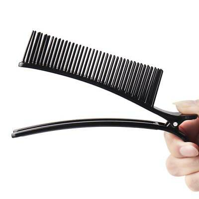 Hair Clips with Comb Hairdressing Clamps Professional Salon Hair Styling Tool