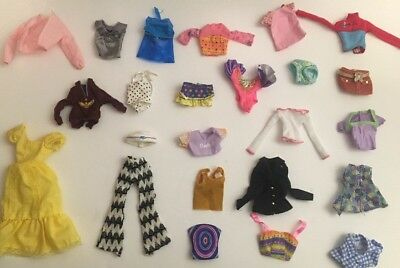 Vintage 1980's - 2000's Lot of Barbie Doll Clothing Clothes Jackets, Skirts ++