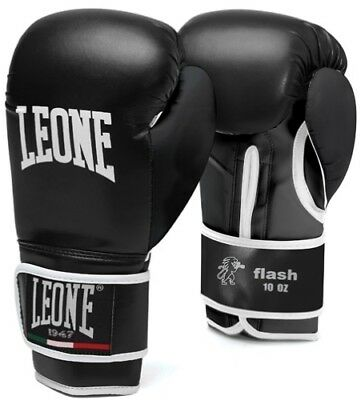 Guanto Leone Gn083 Flash 10/12/14/16 Oz Boxe Thai Kick Mma