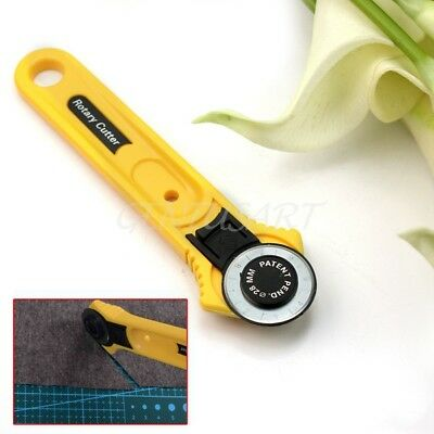 Sharp Rotary Cutter 28mm Circular Cut Blade Patchwork Fabric Leather Craft Tool