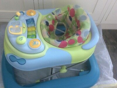 Chicco  Baby Walker with Music & lights. Multi Height Adjustable. Good clean con