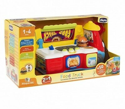 Chicco Huge Food Truck 1-4 Years 50 Phrases 10 Accessories English & French Too!