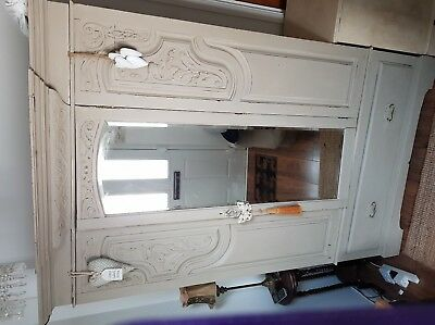 French shabby chic wardrobe