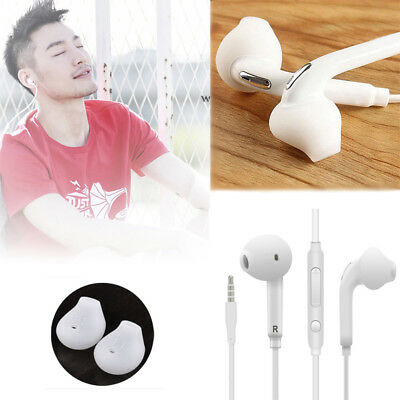 3.5mm Bass Earphones Stereo Headphones Headset Earbuds In-Ear With Remote Mic