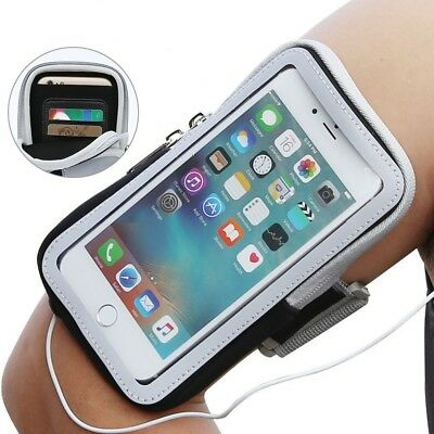 Mobile Phone Armband Case Running Jogging Holder For Samsung iPhone X 8 7 6 6s 8
