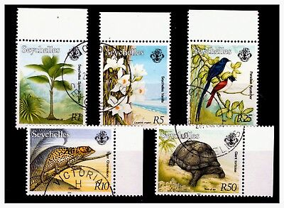 Seychelles High Value Stamps 1994 Used  Lot-23