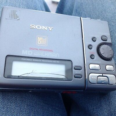 Sony Mz R3 Mini Disc Player And Recorder