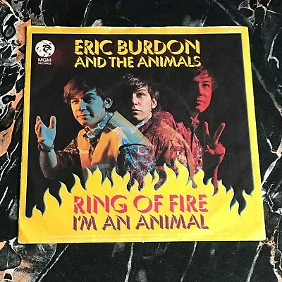 Eric Burdon a.t. Animals nur only Cover Ring of Fire !!! 60er Beat !!!