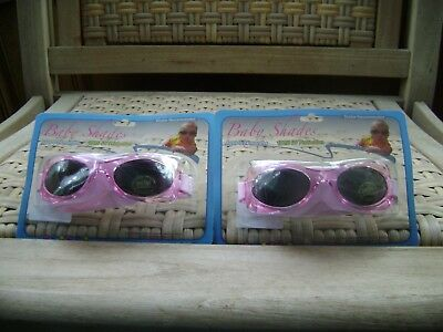 Baby Shades Sun Glasses 0-24 Months 100% Uv Protection 2 Pair