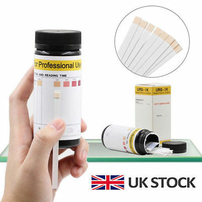 100Pcs Test Paper Keto Strips Urine Analysis Ketostix Ketosis Ketone Diet Sticks