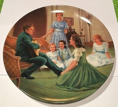 """Knowles The Sound of Music Collectors Plate """"Edelweiss"""""""