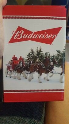 2016 Budweiser Annual Holiday Stein!  New in box w/certificate.