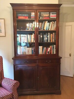 Antique Mahogany Book Case