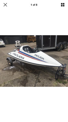 Picuda speed boat
