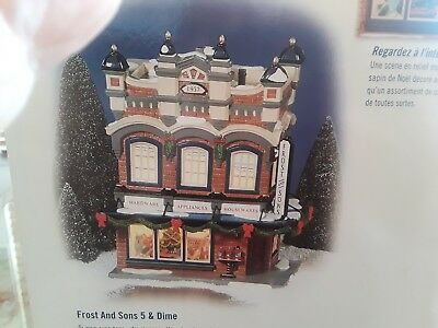 "Department 56 Snow Village Frost And Sons 5 & Dime ""Retired"" 56-55047"