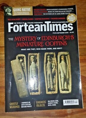 FORTEAN TIMES - September 2018 Issue # 370 - Mystery of Edinburgh's Coffins