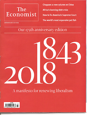 The Economist 15th - 21st September 2018 Economics & Current Affairs Weekly
