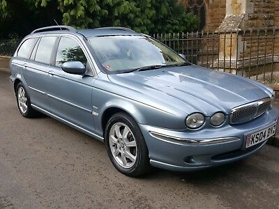 Jaguar X Type 2.0 SE Diesel Estate, Full Service History, 6 Mths MOT, Immaculate