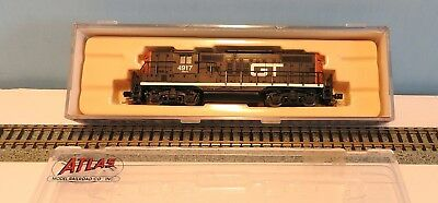 Atlas N scale Grand Trunk torpedo tube GP-9 excellent boxed