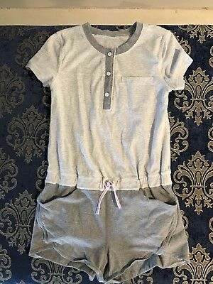 Ivivva LuLuLemon Girls Size 8 Romper Shorts Gray