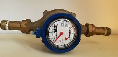 used HERSEY 5/8 IN. 430 COLD WATER METER