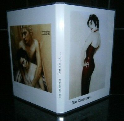siouxsie//banshees  / the creatures... dvd's
