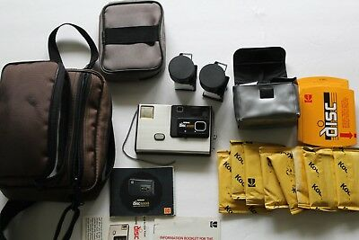 Kodak disc 4000 camera and accessories untested