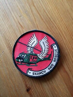 Patches Rettungshubschrauber SAR Search and Rescue Bell uh1d