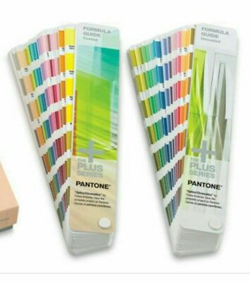 Farbfächer Pantone Formula Guide Coatet Uncoatet PLUS SERIES NEU