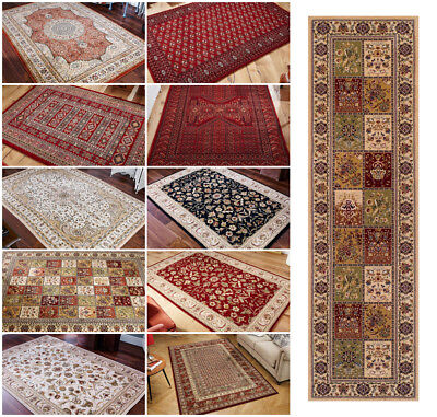 Traditional Clic Oriental 100 New Zealand Wool Rugs