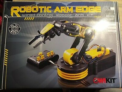 OWI  Robotic Arm Edge wired robotic arm kit robotic arm edge NIB