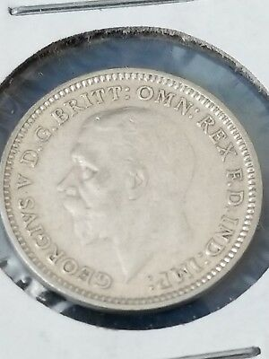 1932 Great Britain Silver 3 Pence