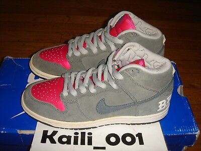 a616d5c3bfdd Nike Dunk High Premium SB Size 4.5 Brain Wreck 313171-007 Skunk Unkle  Supreme B